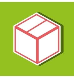 box carton design vector image