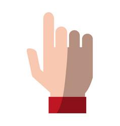 Hand icon image vector