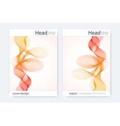 Modern templates for brochure flyer cover vector