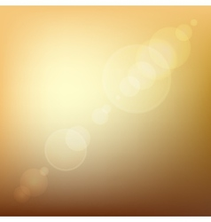 Orange Soft Colored Abstract Background with Lens vector image vector image
