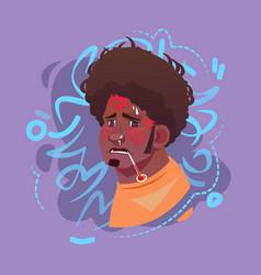 profile icon arab male emotion avatar muslim man vector image vector image
