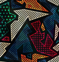 retro cloth seamless pattern vector image
