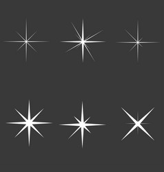 sparkle lights vector image vector image