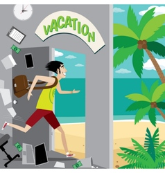 Vacation vector