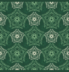 Decorative seamless pattern with floral beauty vector