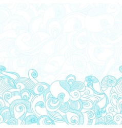 Wave Texture Background vector image