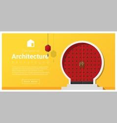 Elements of architecture front door background 7 vector