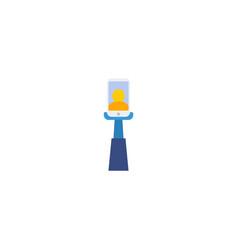 flat icon selfie element of vector image