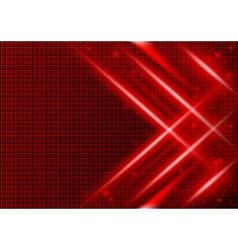 Red Abstract Background vector image vector image