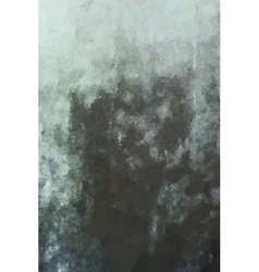 Polygonal grunge blue bronze triangle cloudy vector