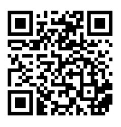 classic qr code black and white scanning vector image vector image
