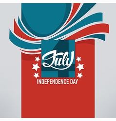 independence banner vector image
