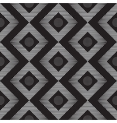 Seamless abstract line pattern vector image vector image