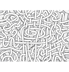 Entangled lines background vector