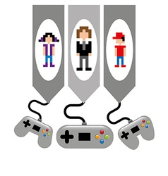 Video game vector