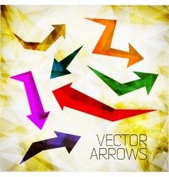 Design arrow vector
