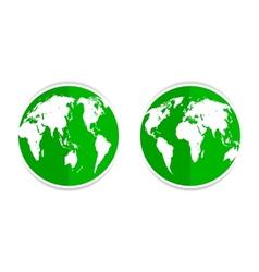 earth green vector image