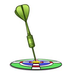 focus target vector image vector image