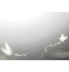 Shining Butterflies vector image vector image