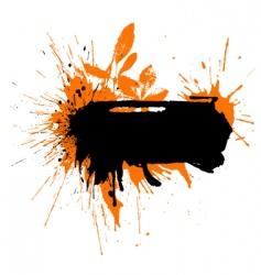 text blot watercolor vector image
