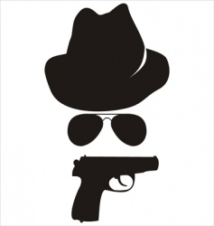 spy accessories vector image