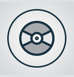 Vinyl colorful outline symbol premium quality vector