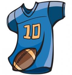 Football jersey vector