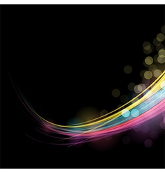 Abstract Flow vector image vector image