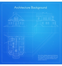 city building blueprint vector image vector image