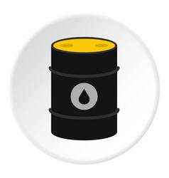 Oil icon circle vector