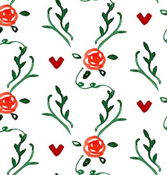 Stylish Floral Card vector image