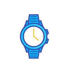 watch vector image vector image