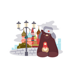 City of moscow vector