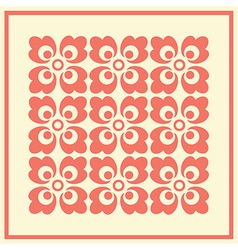 Floral seamless background pattern vector