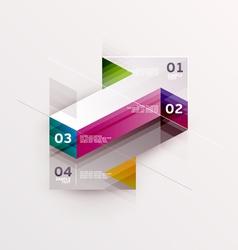 Arrow objects vector