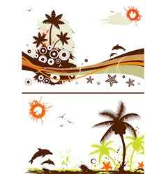 Collect summer design vector