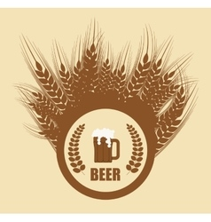 Beer concept design vector