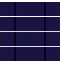 Grid square royal blue background vector