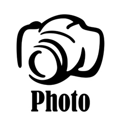 Camera icon or symbol vector image vector image