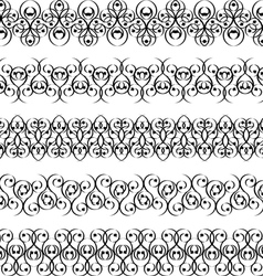 set of tattoo bands vector image vector image