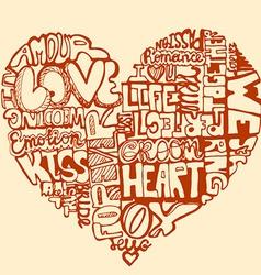 Heartwords2 vector