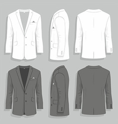 Men s suit vector