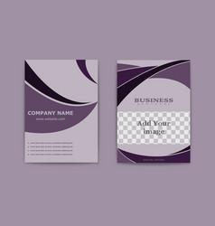 Abstract modern flyers brochure business brochure vector