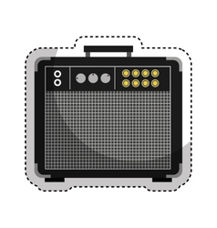 audio console professional icon vector image