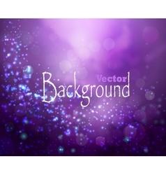 Purple lights background vector