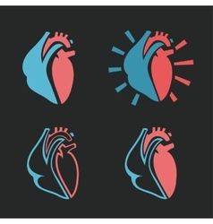 Heart icon 01 a vector