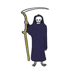 Death comic cartoon vector