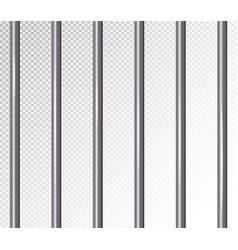 prison bars isolated vector image