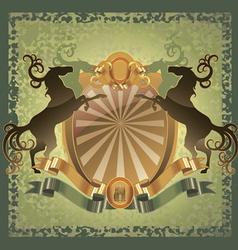 horses coat vector image