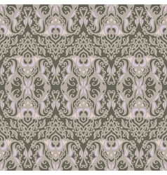 Vintage damask seamless pattern background vector